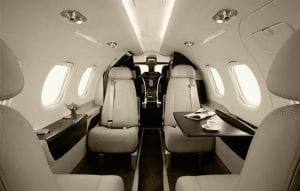 Phenom 100: Seating