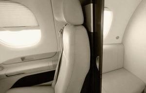 Phenom 100: Seats