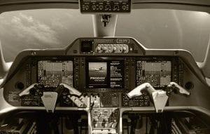 Phenom 100: cockpit