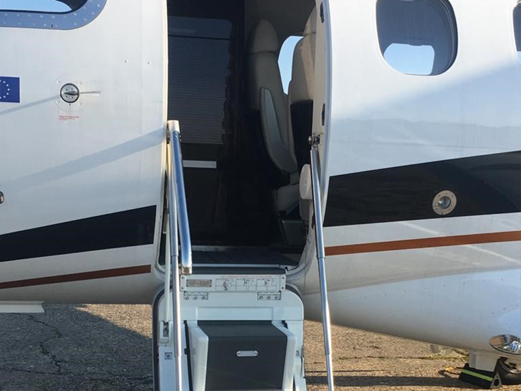 airplane entrance