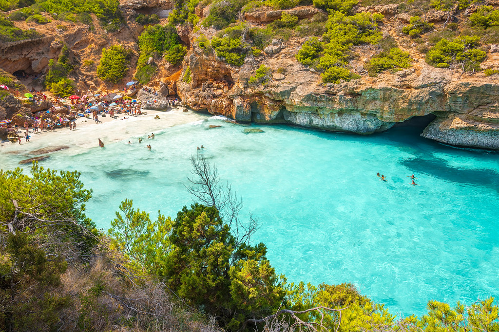 Calo des Moro bay, Mallorca (Spain)